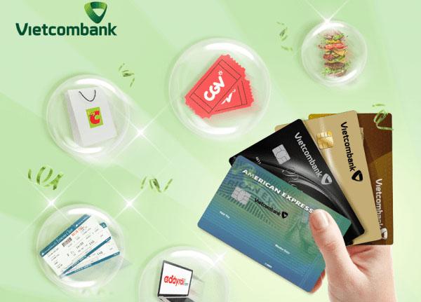 Nhiều ưu đãi khi mở và sử dụng thẻ tín dụng Vietcombank