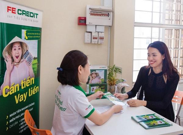 Cho vay tiền tại Bưu điện - Fe Credit