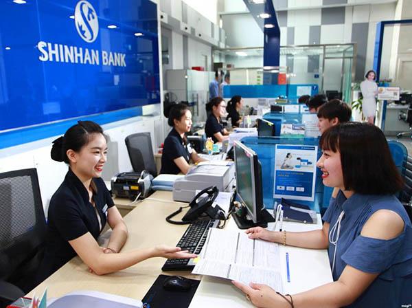 Vay tín chấp ngân hàng Shinhan Bank với lãi suất ưu đãi