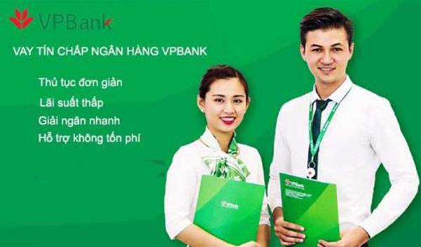 Điều kiện thủ tục vay tín chấp ngân hàng VPBank đơn giản
