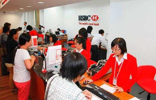 Vay trả góp ngân hàng HSBC