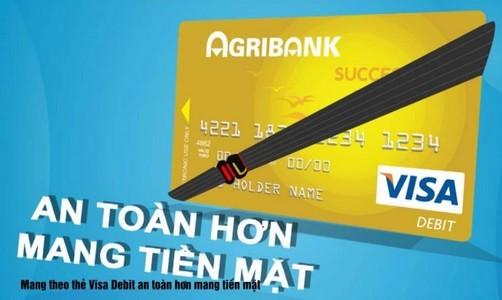 Phân loại thẻ Visa ngân hàng Agribank