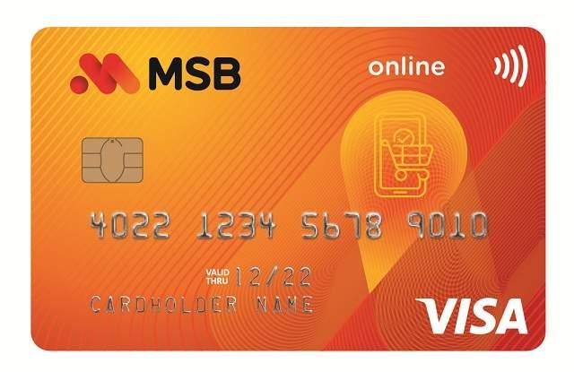 Thẻ Visa ngân hàng MSB