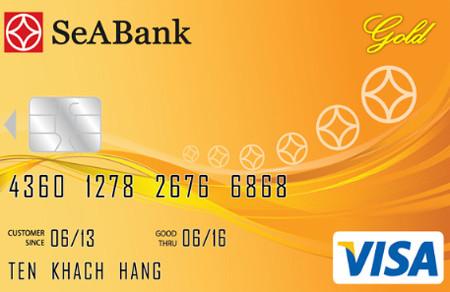 Thẻ Visa ngân hàng SeABank