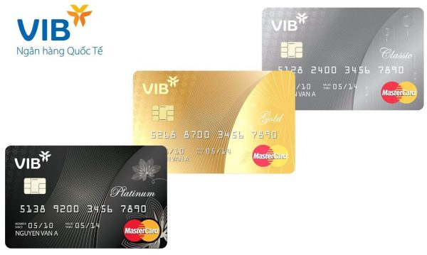 Thẻ Visa ngân hàng VIB