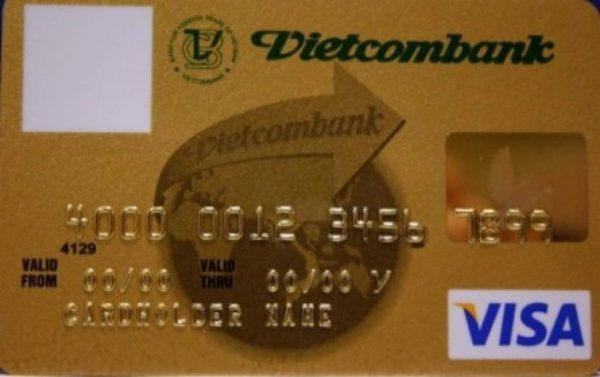 Làm thẻ Visa ngân hàng Vietcombank