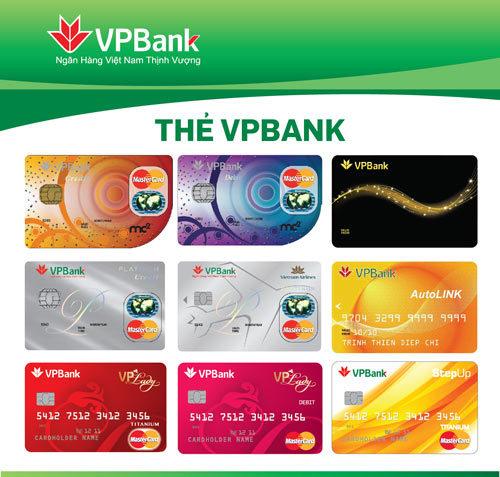 Mở thẻ Mastercard ngân hàng VPBank