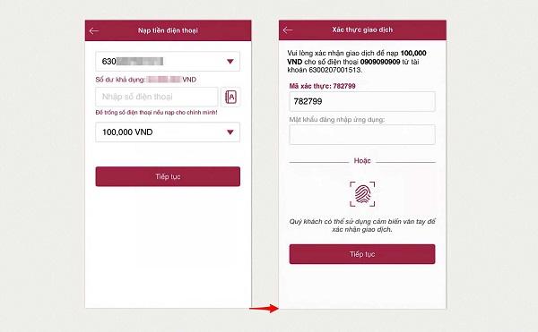 Cách chuyển tiền AgriBank Agribank E-mobile Banking