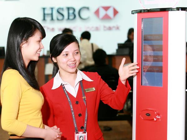Tiện ích dịch vụ ngân hàng HSBC