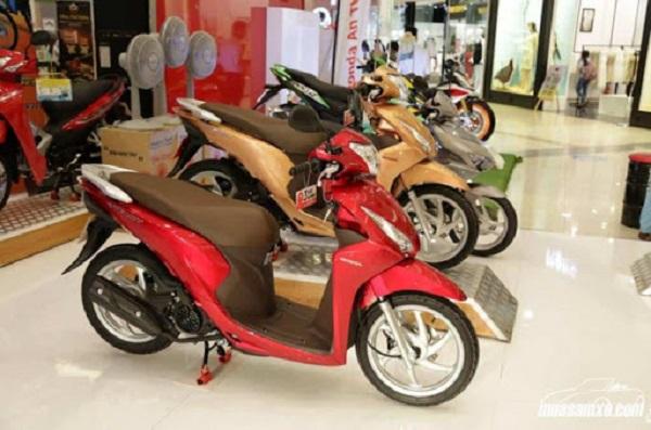 Lãi suất vay mua xe máy trả góp Yamaha