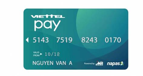 Thẻ ATM Viettel Pay