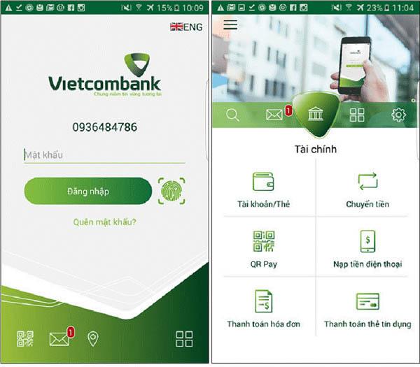 Hướng dẫn cách chuyển tiền điện thoại VietcomBank nhanh nhất