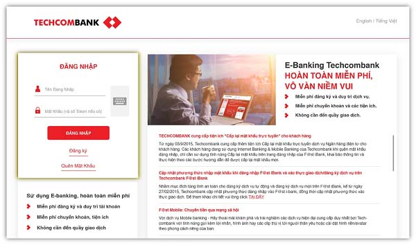 Cách chuyển Internet Banking – F@st i-bank