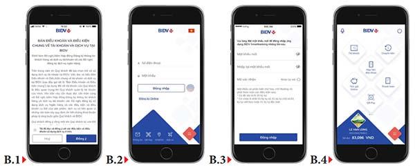 Sử dụng BIDV Online