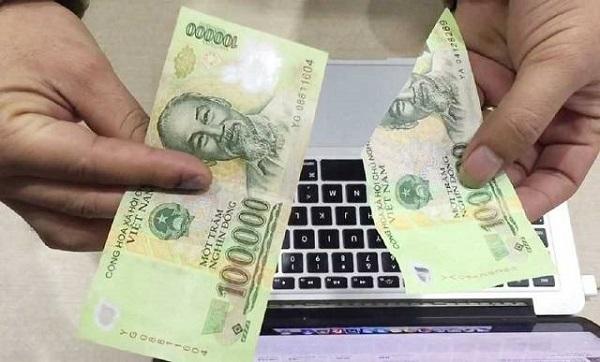 Thủ tục đổi tiền rách tại các ngân hàng