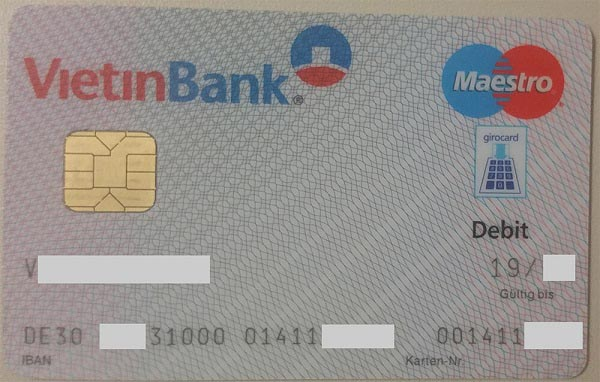 IBAN VietinBank