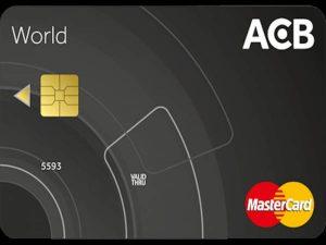 Làm thẻ Mastercard ngân hàng ACB