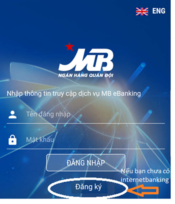đăng ký và sử dụng Internet banking của MBBank