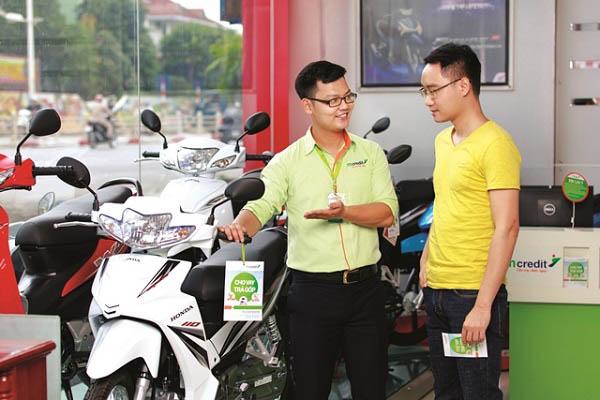 Điều kiện mua xe máy trả góp bằng thẻ tín dụng