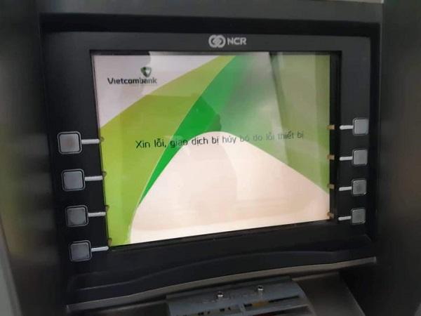 Hệ thống cây ATM bị lỗi