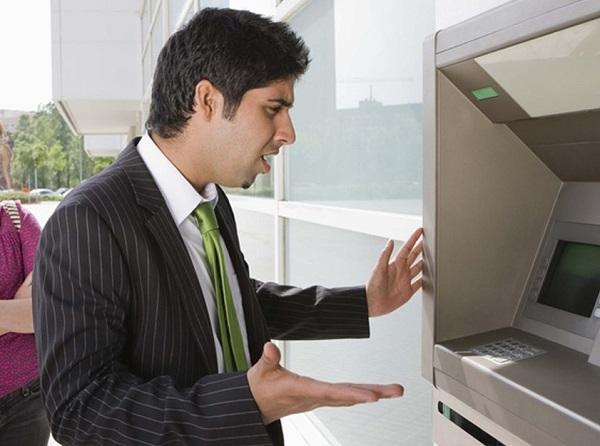 Cây rút tiền khác hệ thống ngân hàng