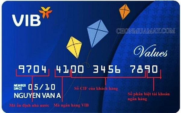 Số thẻ ngân hàng