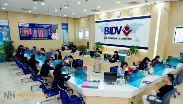 Tra cứu tài khoản qua PGD/Chi nhánh BIDV