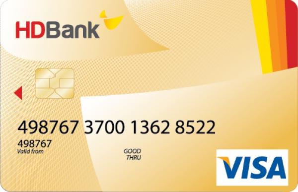 Thẻ tín dụng ngân hàng HDBank