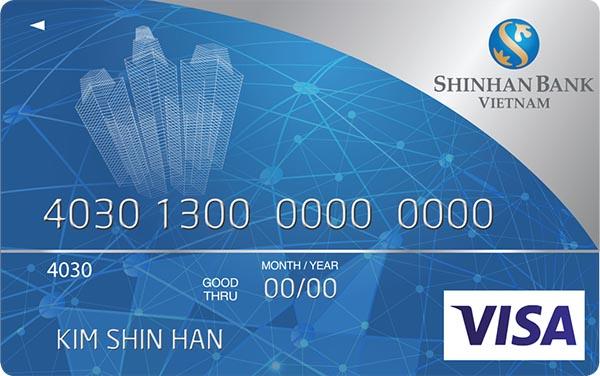 Thẻ tín dụng ngân hàng Shinhan Bank