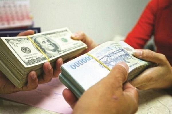 Đổi tiền tại ngân hàng