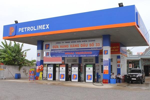 Hệ thống cây xăng Petrolimex