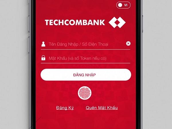 Lấy lại mật khẩu qua Internet Banking TechcomBank
