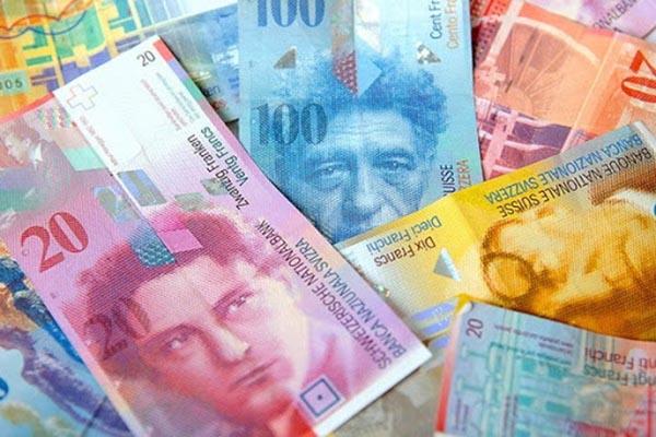 1 Franc Thụy Sĩ bằng bao nhiêu tiền Việt