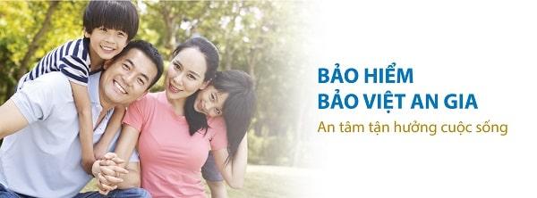 Bảo hiểm sức mạnh Bảo Việt An Gia