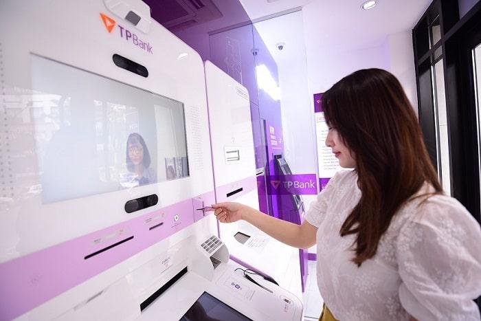 Chuyển tiền qua cây ATM TPBank