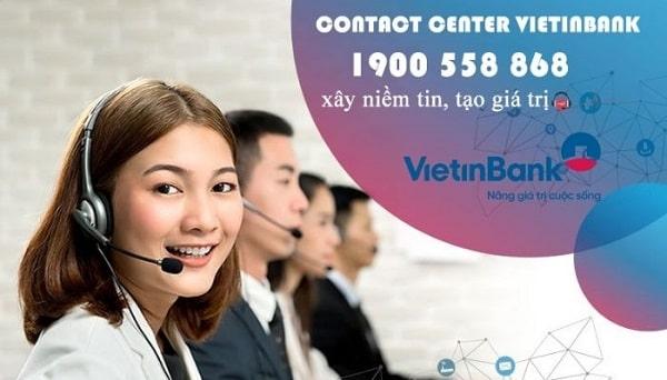 Kiểm tra số tài khoản Vietinbank qua số tổng đài 1900 55 88 68