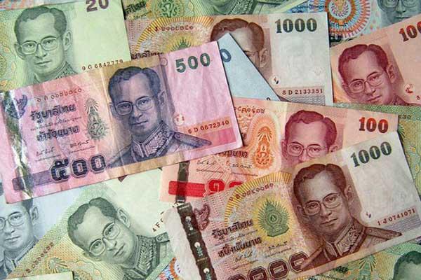 Các mệnh giá tiền Thái Lan