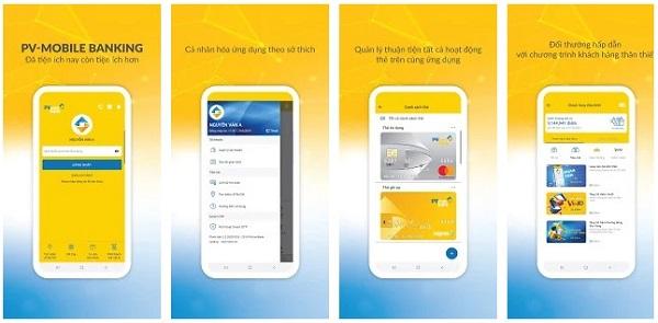 PV Mobile Banking – Ngân hàng di động tuyệt vời của PVcomBank – NH Đại Chúng