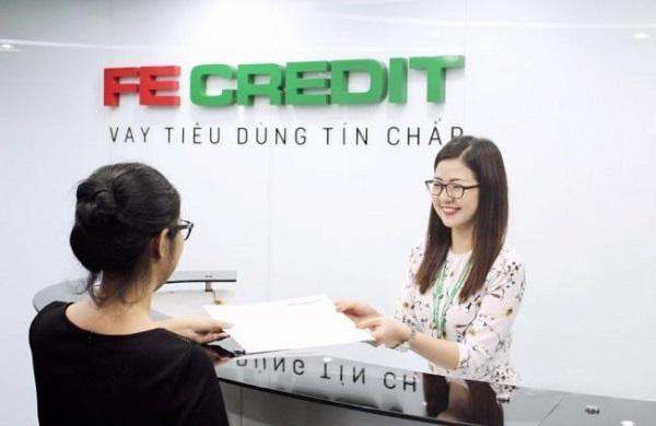 Vay theo hợp đồng tín chấp cũ FE Credit