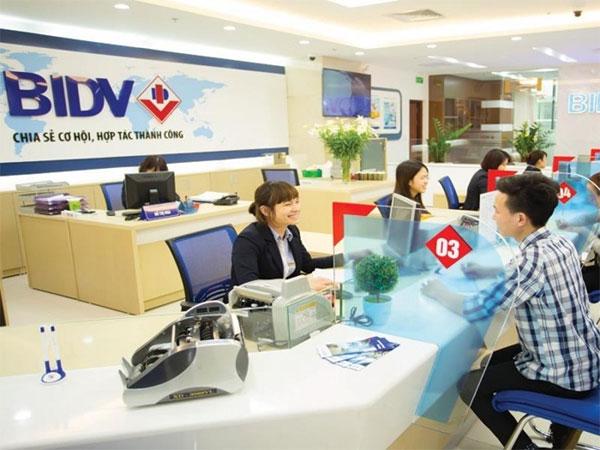 Đăng ký SmartBanking tại phòng giao dịch/chi nhánh BIDV