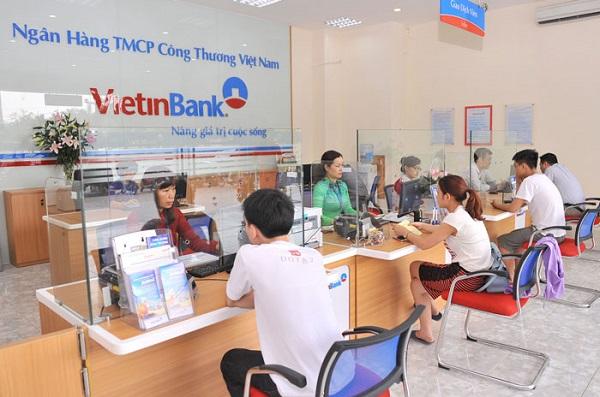 Đến phòng giao dịch/chi nhánh ngân hàng VietinBank