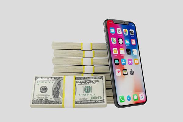 Hạn mức, lãi suất vay tiền theo điện thoại iPhone