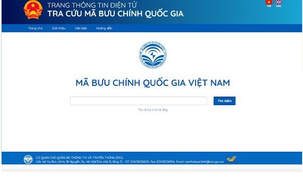 Hướng dẫn cách tra mã bưu điện TP HCM trực tuyến