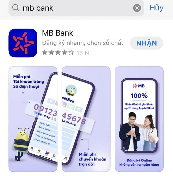 Hướng dẫn cách mở tài khoản số đẹp ngân hàng MBBank Online miễn phí
