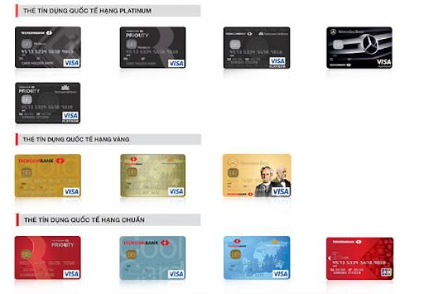 Phí thường niên sử dụng thẻ ngân hàng TechcomBank