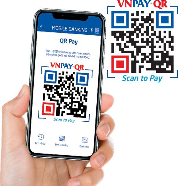VNPay TechcomBank có quét được mã QR không?