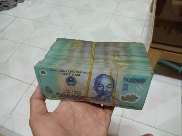 1 cọc tiền 500k có bao nhiêu tờ?