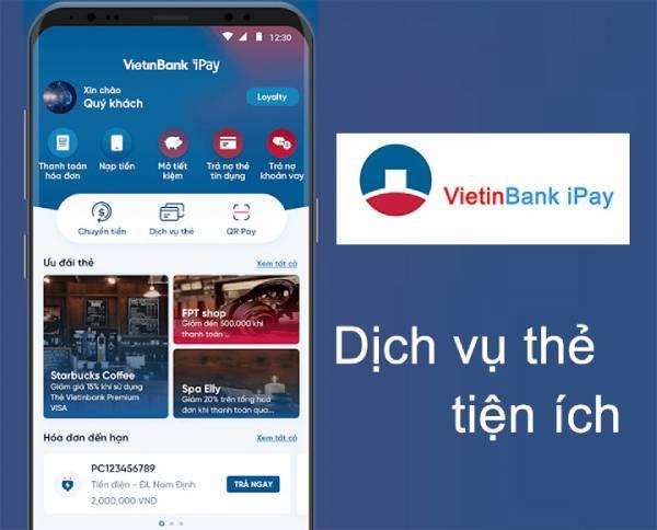 Ứng dụng VietinBank iPay đang được sử dụng phổ biến hiện nay