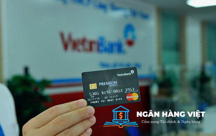 Điều kiện, Thủ tục mở thẻ Mastercard ngân hàng Vietinbank